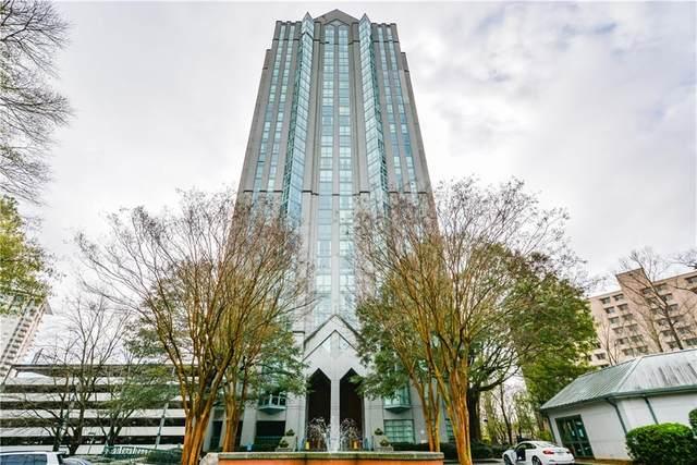 2870 Pharr Court South NW #205, Atlanta, GA 30305 (MLS #6938381) :: Atlanta Communities Real Estate Brokerage