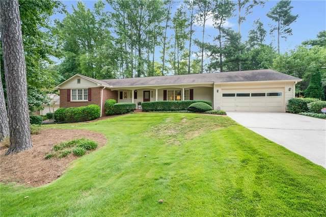 6709 Ridge Mill Lane, Sandy Springs, GA 30328 (MLS #6938566) :: North Atlanta Home Team