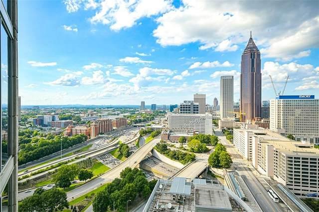 400 W Peachtree Street NW #2416, Atlanta, GA 30308 (MLS #6939429) :: Rock River Realty
