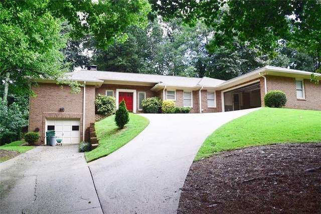 4129 Allenhurst Drive, Peachtree Corners, GA 30092 (MLS #6939917) :: Kennesaw Life Real Estate