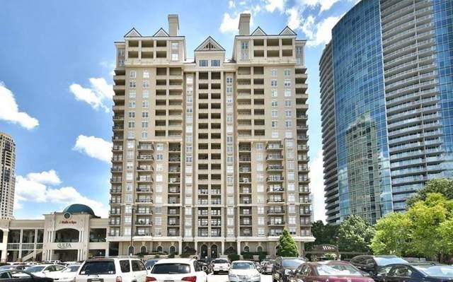 3334 Peachtree Road NE #1408, Atlanta, GA 30326 (MLS #6939935) :: Tonda Booker Real Estate Sales