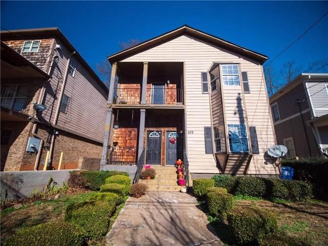 572 John Wesley Dobbs Avenue NE, Atlanta, GA 30312 (MLS #6939964) :: Evolve Property Group