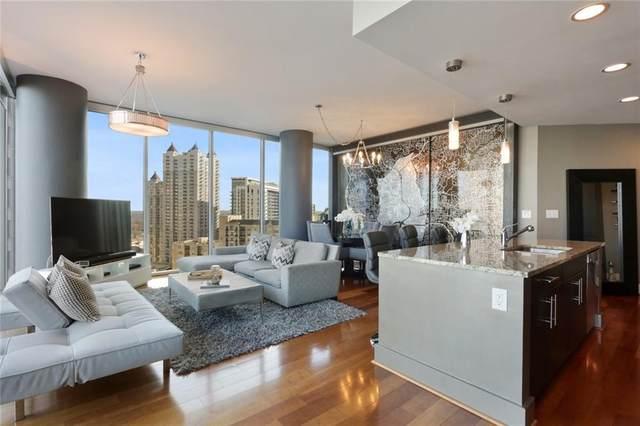 1080 Peachtree St Ne #1602, Atlanta, GA 30309 (MLS #6940325) :: Virtual Properties Realty