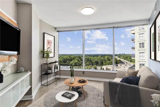 3338 Peachtree Road NE #1204, Atlanta, GA 30326 (MLS #6940809) :: Kennesaw Life Real Estate