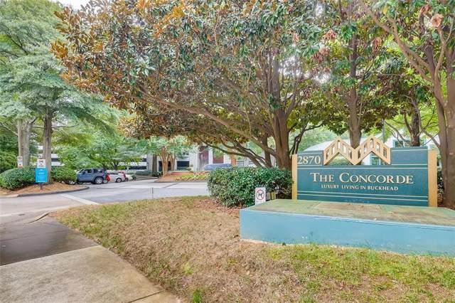 2870 Pharr Court South NW #2808, Atlanta, GA 30305 (MLS #6941641) :: The Huffaker Group