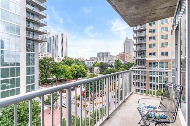 950 W Peachtree Street NW #811, Atlanta, GA 30309 (MLS #6942277) :: Dillard and Company Realty Group