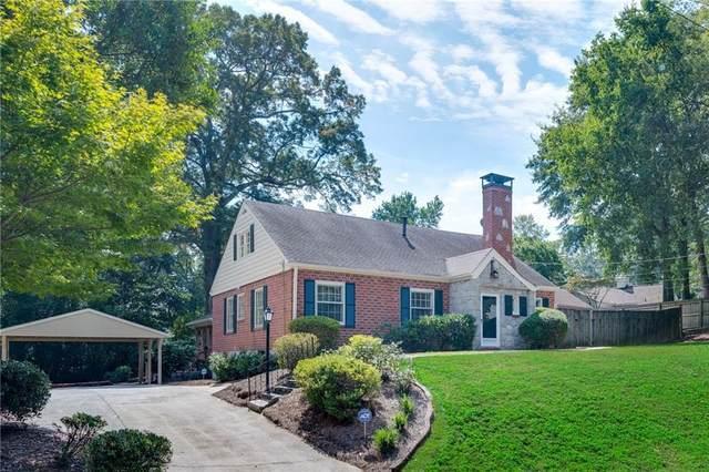 261 Eureka Drive NE, Atlanta, GA 30305 (MLS #6942452) :: Dawn & Amy Real Estate Team