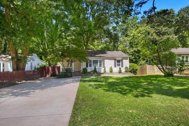 1068 Vista Trail NE, Atlanta, GA 30324 (MLS #6943692) :: Dawn & Amy Real Estate Team