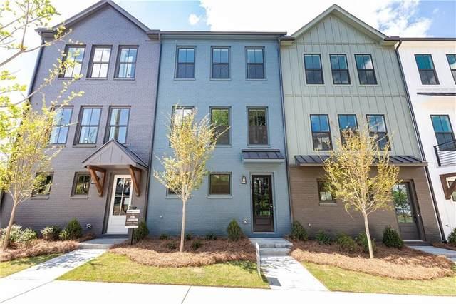4433 Buckley Way #60, Atlanta, GA 30342 (MLS #6943906) :: Atlanta Communities Real Estate Brokerage