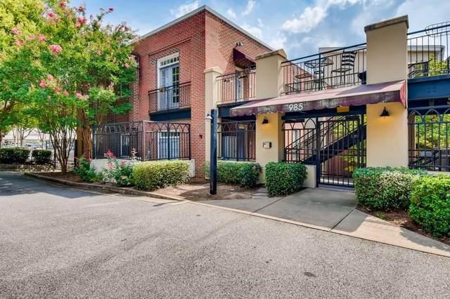 985 Ponce De Leon Avenue NE #205, Atlanta, GA 30306 (MLS #6944902) :: The Zac Team @ RE/MAX Metro Atlanta