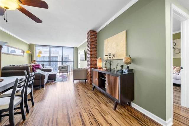 1280 W Peachtree W, Atlanta, GA 30309 (MLS #6946112) :: Evolve Property Group