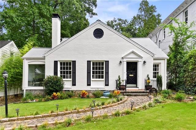 1191 Lanier Boulevard NE, Atlanta, GA 30306 (MLS #6946660) :: Kennesaw Life Real Estate