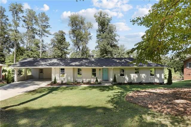 1659 Crestline Drive NE, Atlanta, GA 30345 (MLS #6947285) :: North Atlanta Home Team