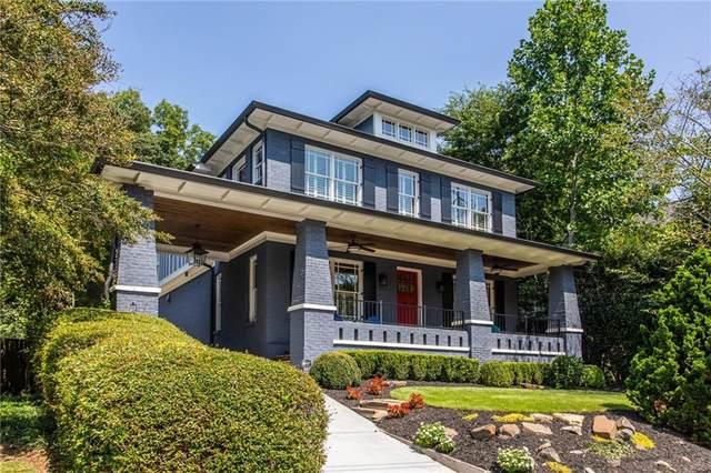 694 Yorkshire Road NE, Atlanta, GA 30306 (MLS #6947507) :: Dillard and Company Realty Group