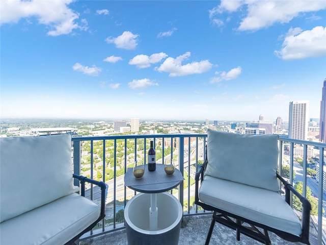 400 W Peachtree Street NW #3503, Atlanta, GA 30308 (MLS #6947690) :: Tonda Booker Real Estate Sales