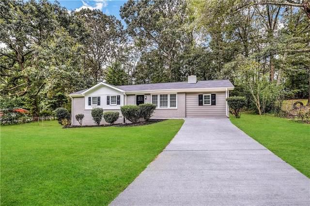 3453 Ridgecrest Drive, Powder Springs, GA 30127 (MLS #6947874) :: Kennesaw Life Real Estate
