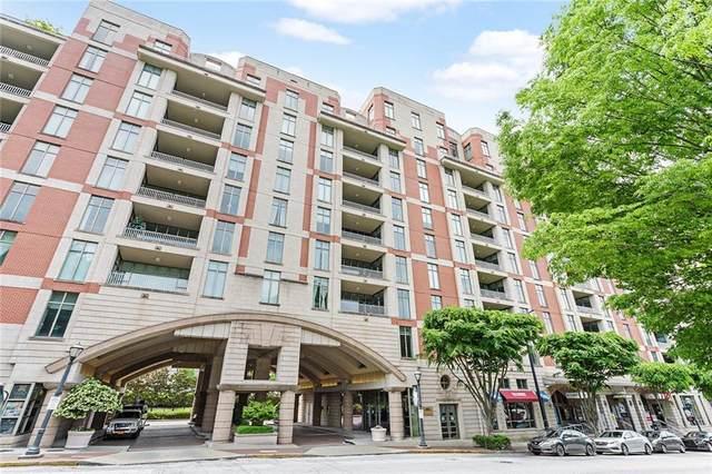 250 Park Avenue West NW #804, Atlanta, GA 30313 (MLS #6947934) :: The Kroupa Team | Berkshire Hathaway HomeServices Georgia Properties