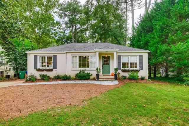 1190 Vista Trail NE, Atlanta, GA 30324 (MLS #6947984) :: Dawn & Amy Real Estate Team