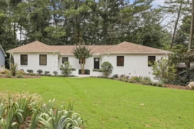 535 Wyncourtney Drive, Sandy Springs, GA 30328 (MLS #6948201) :: Scott Fine Homes at Keller Williams First Atlanta