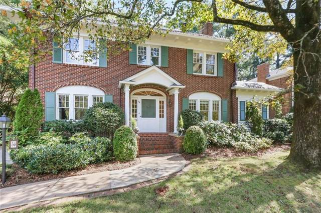 56 Clarendon Avenue, Avondale Estates, GA 30002 (MLS #6948314) :: Evolve Property Group