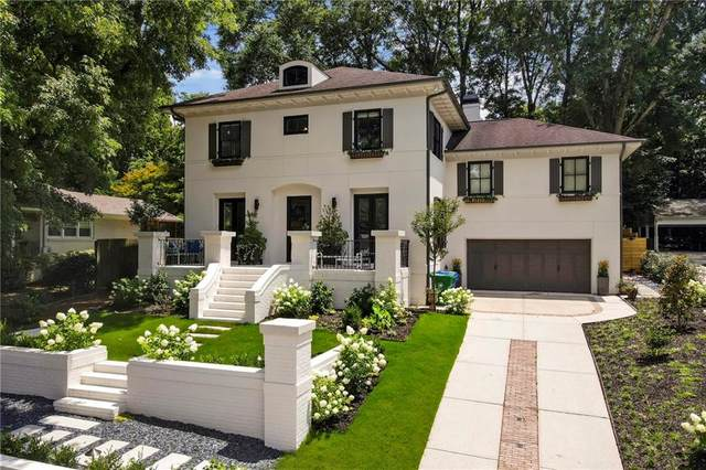 1361 Normandy Drive NE, Atlanta, GA 30306 (MLS #6948632) :: Scott Fine Homes at Keller Williams First Atlanta