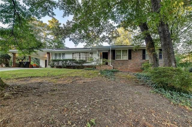 576 Lorell Terrace NE, Atlanta, GA 30328 (MLS #6948679) :: Tonda Booker Real Estate Sales