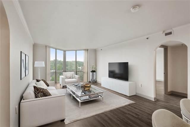 2870 Pharr Court South NW #801, Atlanta, GA 30305 (MLS #6949115) :: Charlie Ballard Real Estate