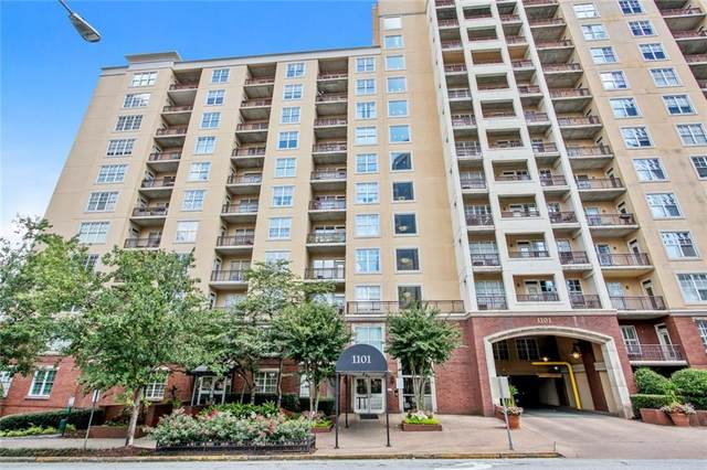 1101 Juniper Street NE #419, Atlanta, GA 30309 (MLS #6949952) :: The Kroupa Team   Berkshire Hathaway HomeServices Georgia Properties