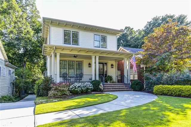 1117 Hudson Drive NE, Atlanta, GA 30306 (MLS #6949978) :: Dawn & Amy Real Estate Team