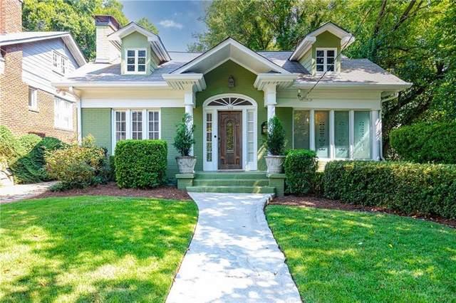 1110 Rosedale Drive NE, Atlanta, GA 30306 (MLS #6950050) :: Dawn & Amy Real Estate Team