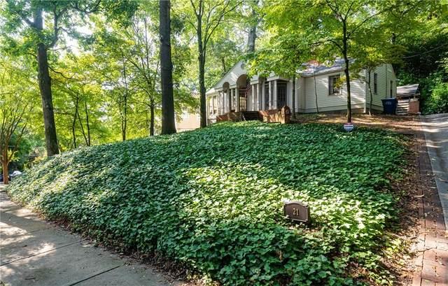 21 Brighton Road NE, Atlanta, GA 30309 (MLS #6951119) :: Tonda Booker Real Estate Sales
