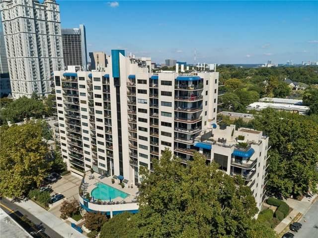 1130 Piedmont Avenue NE #1110, Atlanta, GA 30309 (MLS #6951136) :: Dillard and Company Realty Group