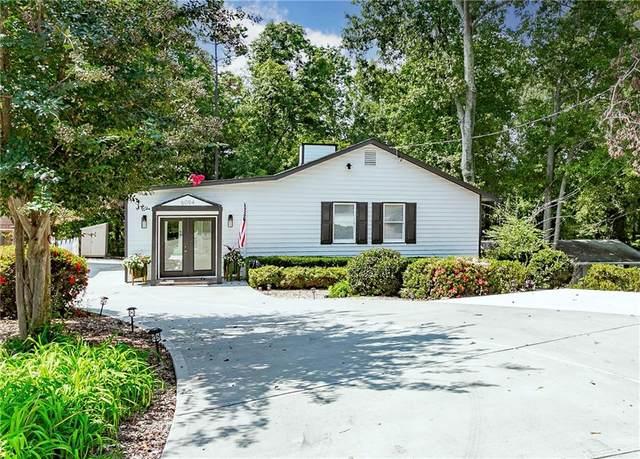6094 Lake Lanier Heights Road, Buford, GA 30518 (MLS #6951537) :: North Atlanta Home Team