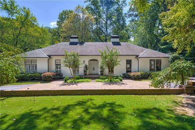 970 Nawench Drive NW, Atlanta, GA 30327 (MLS #6952467) :: Dawn & Amy Real Estate Team