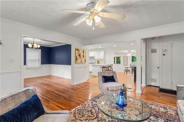 1125 Vista Trail NE, Atlanta, GA 30324 (MLS #6952650) :: Dawn & Amy Real Estate Team