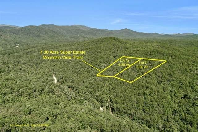 0 Whispering Tree Way Lot 7 & 12, Sautee Nacoochee, GA 30571 (MLS #6952693) :: HergGroup Atlanta