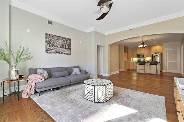 2255 Peachtree Road NE #329, Atlanta, GA 30309 (MLS #6952928) :: The Kroupa Team | Berkshire Hathaway HomeServices Georgia Properties