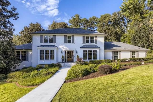 485 Riverhill Drive NW, Atlanta, GA 30328 (MLS #6953955) :: Thomas Ramon Realty