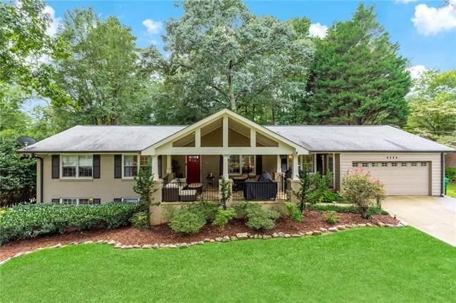 4884 Mill Brook Drive, Dunwoody, GA 30338 (MLS #6954135) :: North Atlanta Home Team