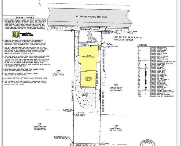 1333 Mclendon Avenue NE, Atlanta, GA 30307 (MLS #6954627) :: The Kroupa Team | Berkshire Hathaway HomeServices Georgia Properties