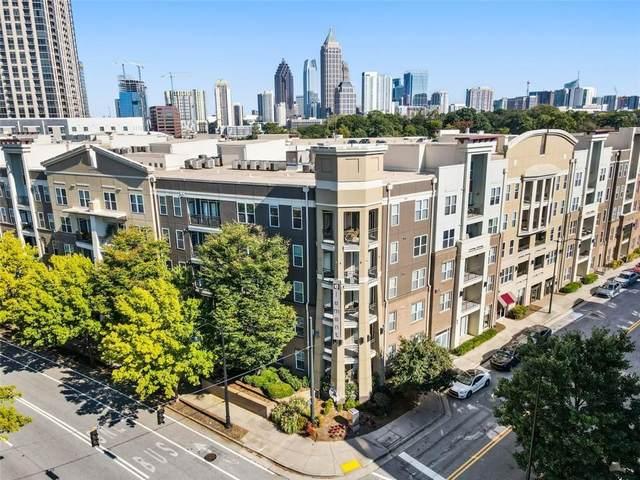 390 17TH Street NW #5046, Atlanta, GA 30363 (MLS #6955061) :: Dawn & Amy Real Estate Team
