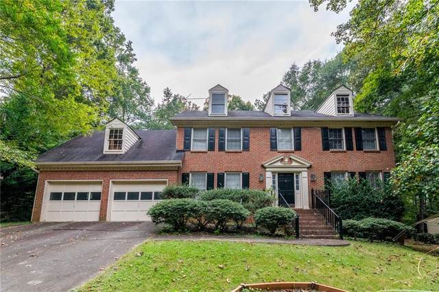 4666 Woodstone Lane, Peachtree Corners, GA 30096 (MLS #6955638) :: North Atlanta Home Team