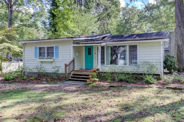 4607 Ridge Drive, Pine Lake, GA 30072 (MLS #6955704) :: North Atlanta Home Team
