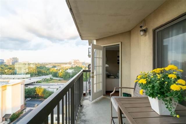 795 Hammond Drive #1613, Atlanta, GA 30328 (MLS #6955769) :: Virtual Properties Realty