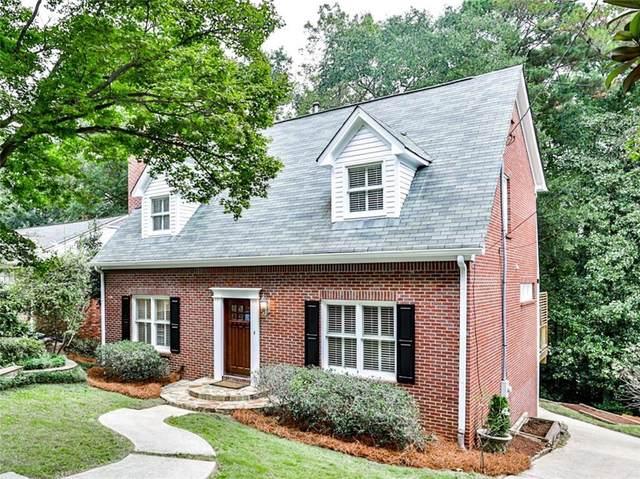 1957 Lebanon Drive NE, Atlanta, GA 30324 (MLS #6956148) :: Dawn & Amy Real Estate Team