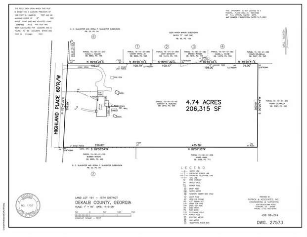 0000 Highland Place, Decatur, GA 30035 (MLS #6956429) :: The Zac Team @ RE/MAX Metro Atlanta