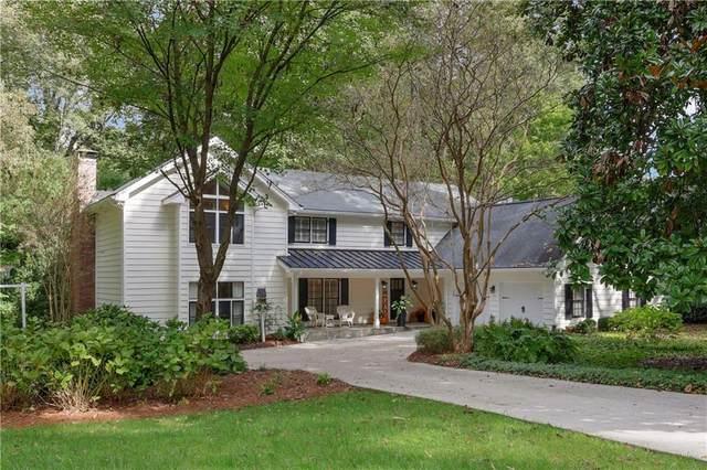 1066 Winding Branch Circle, Dunwoody, GA 30338 (MLS #6957090) :: The Kroupa Team | Berkshire Hathaway HomeServices Georgia Properties
