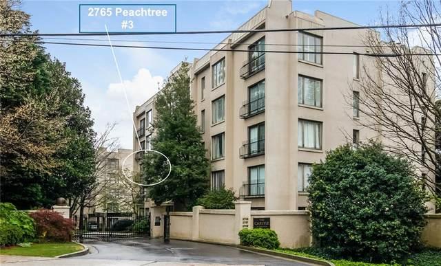 2765 Peachtree Road NE #3, Atlanta, GA 30305 (MLS #6957232) :: Dillard and Company Realty Group