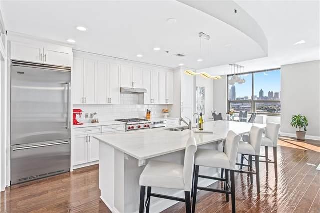 270 17th Street NW #1909, Atlanta, GA 30363 (MLS #6957387) :: The Kroupa Team | Berkshire Hathaway HomeServices Georgia Properties