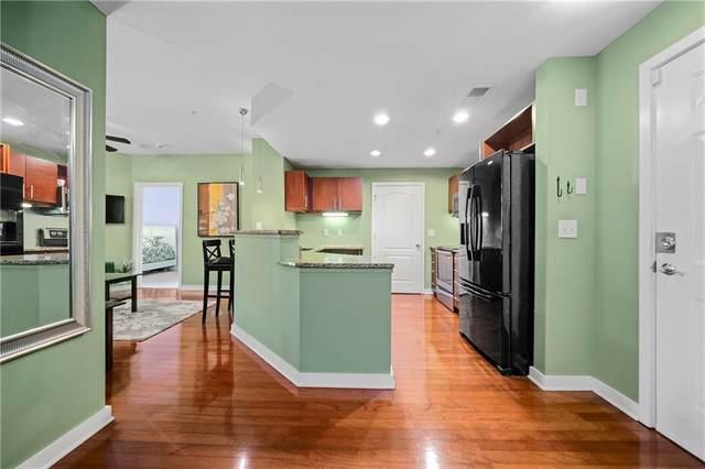 390 17th Street NW #4061, Atlanta, GA 30363 (MLS #6957420) :: Tonda Booker Real Estate Sales